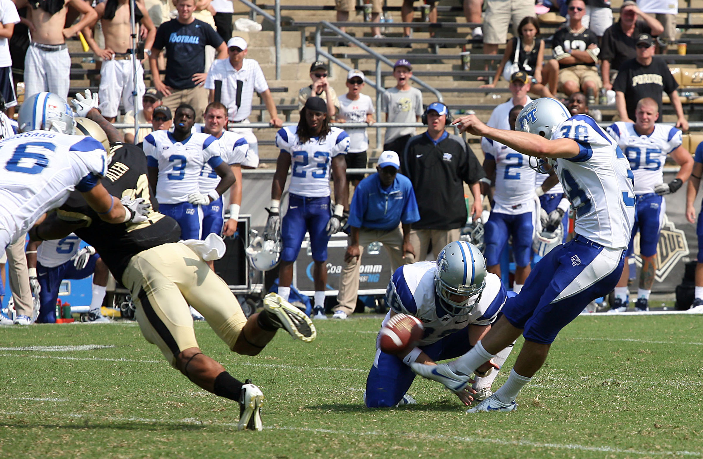 NCAA Football: Middle Tennessee State at Purdue