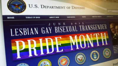 US military pride month