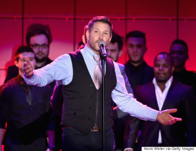 "LOS ANGELES, CA - DECEMBER 07:  Singer Ty Herndon performs onstage during ""TrevorLIVE LA"" Honoring Robert Greenblatt, Yahoo and Skylar Kergil for The Trevor Project presented by Wells Fargo at Hollywood Palladium on December 7, 2014 in Los Angeles, California.  (Photo by Kevin Winter/Getty Images for Trevor Project)"